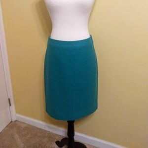 J. Crew wool blend pencil skirt sz 2 EUC